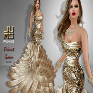 Orient Gown Gold
