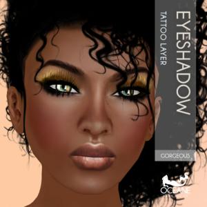 Oceane - Gorgeous Eyeshadow_ Gold