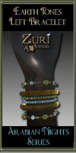 Earth Tones Bracelet (L) Arabian Nights Series