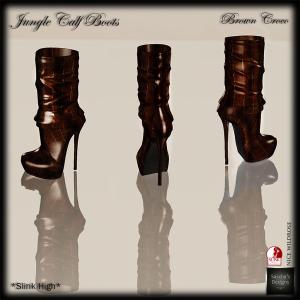 SAS - Jungle Brown Croco