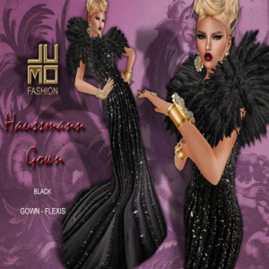 Haussmann Gown Black