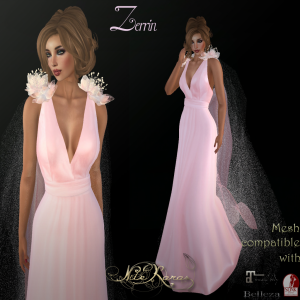 _ Zerrin poster pale pink- FlowerDreams